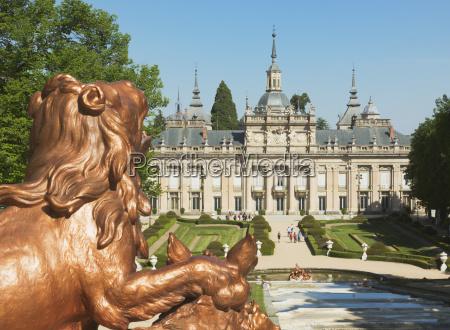 the royal palace of san ildefonso