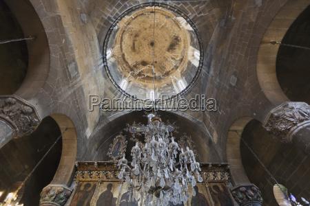 interior of st mamas church morphou