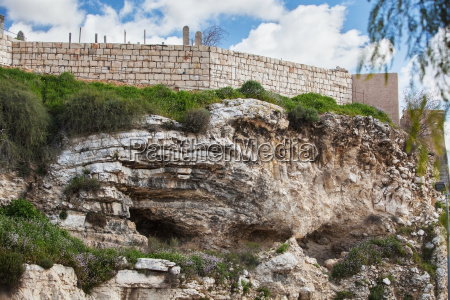 israel low angle view of golgotha