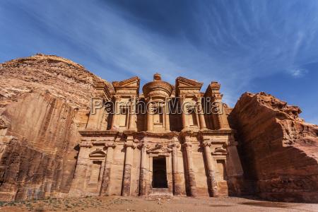 jordan al deir monastery petra