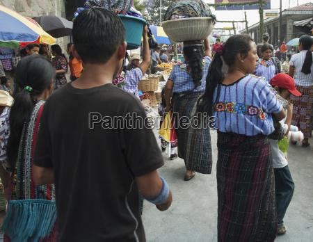 market scene santiago de atitl
