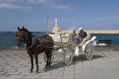 greece crete hania two men sitting