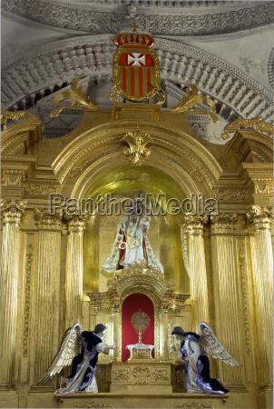 guatemala antigua interior of the church