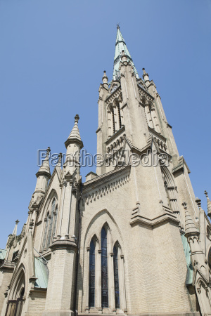 low angle of st james cathedral