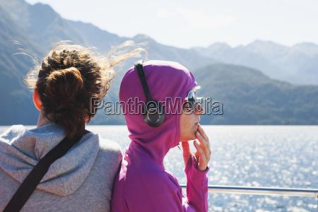 travelers enjoy the scenic cruise on