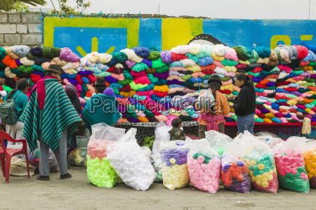 saquisili market an indian market with