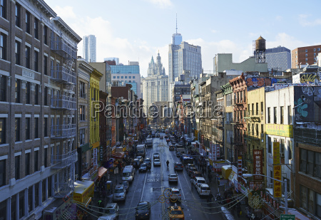 view of china town towards financial