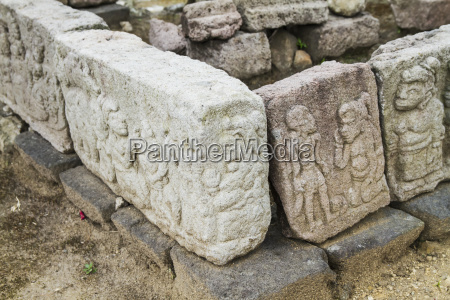 bas reliefs at candi cetho a