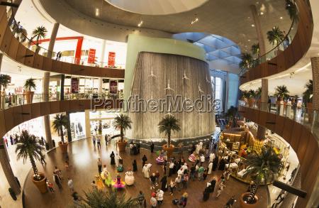water feature in dubai mall dubai