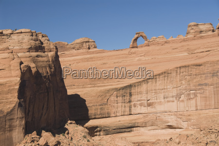utah arches national park rock formation