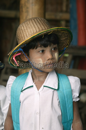 child at the primary school in