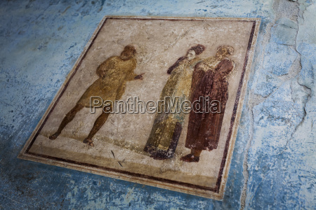 ancient artwork pompei italy