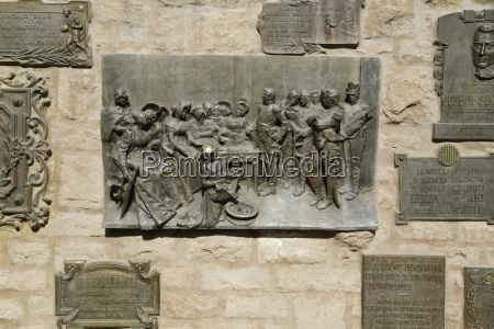 commemorative plaques to the army of