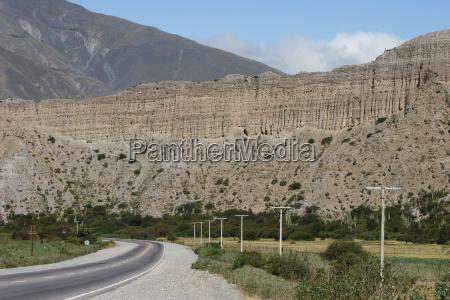 multicolored mountains of the quebrada de