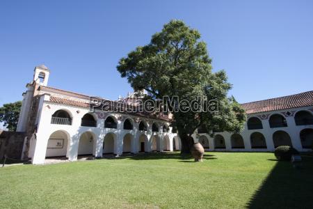 courtyard of the estancia jess mara