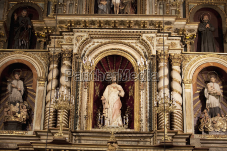 detail of the main altarpiece of