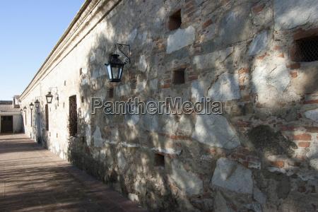 wall surrounding the honour courtyard of