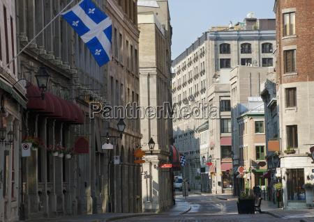 st paul street in old montreal