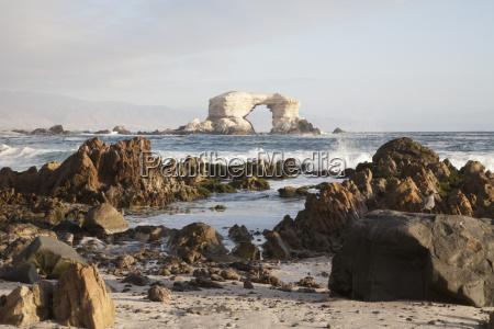 the natural monument of la portada