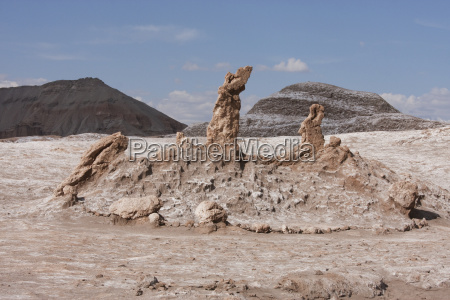 three marias rock formation in the