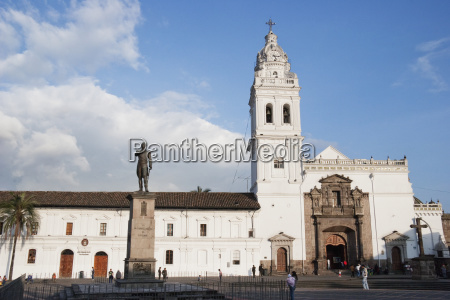 bell tower of the santo domingo