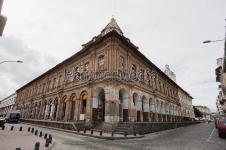neo classical building cuenca azuay ecuador