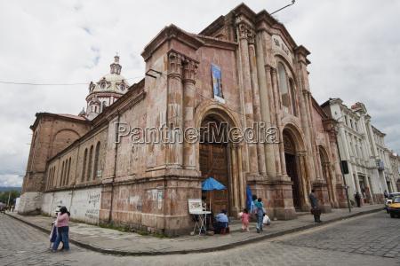 san blas church cuenca azuay ecuador