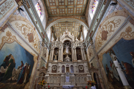 main altarpiece of the santo domingo