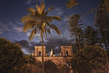 el sagrario church old cathedral at
