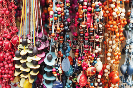 bead necklaces for sale at the