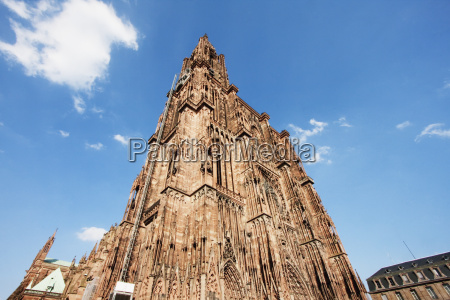 cathedral of notre dame strasbourg france