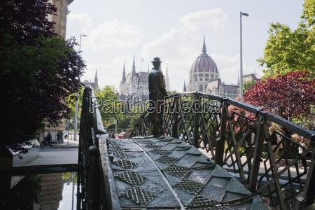 imre nagy statue at martyrs square