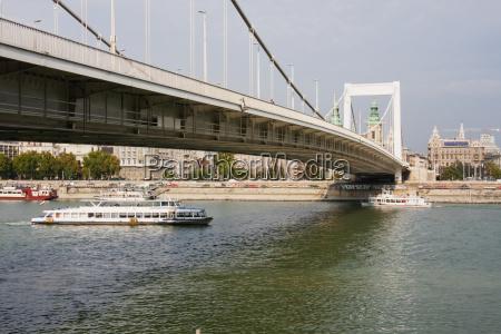 elisabeth bridge budapest hungary