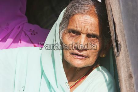 old woman bodhgaya bihar india