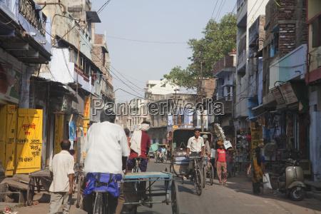 street scene patna bihar india