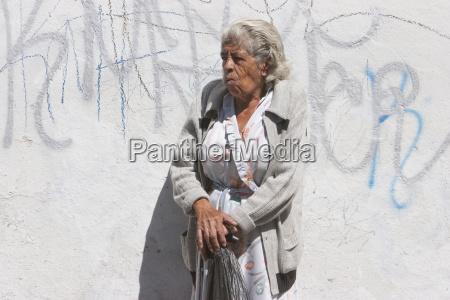 old woman morelia michoac