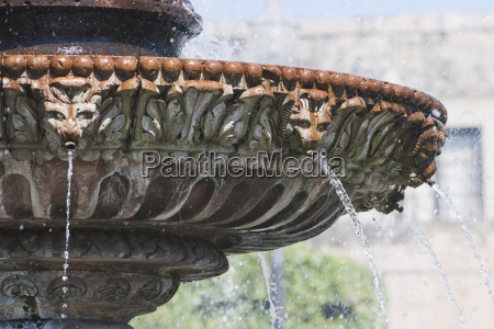 flora fountain at the jard