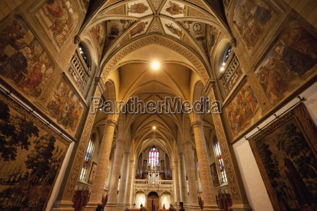 central nave of the cathedral of