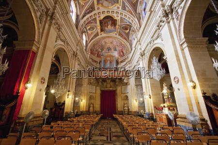 interior of st marija cathedral inside