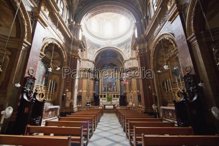 interior of st pauls church rabat