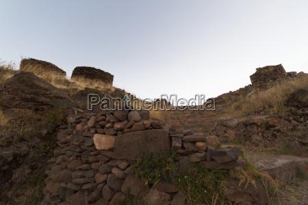 chullpas ancient colla funerary towers sillustani