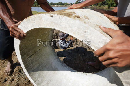 rebuilding a potable water supply system