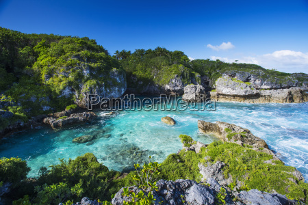a popular swimming spot on niue
