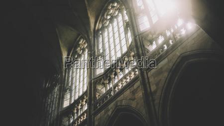 daylight through the windows of st