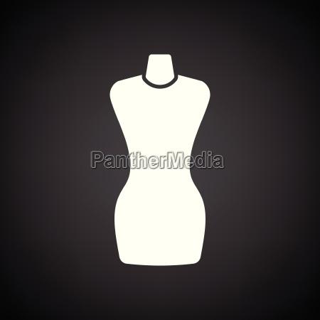 tailor mannequin icon