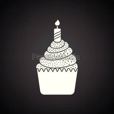 first birthday cake icon