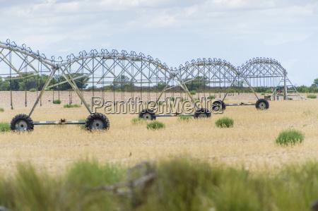 irrigation system on a farm cape