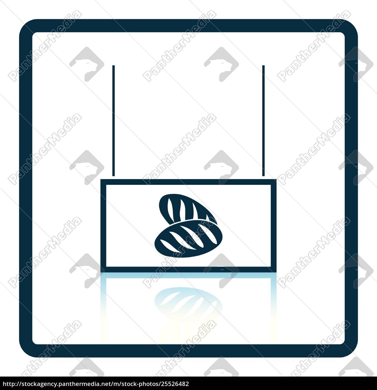 bread, market, department, icon - 25526482