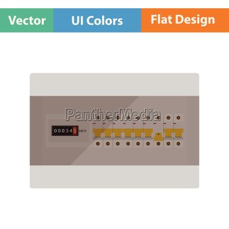 circuit breakers box icon