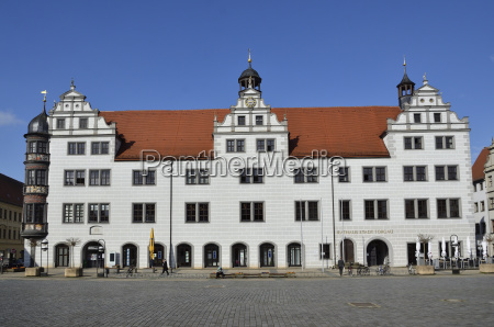 town hall on the market torgau